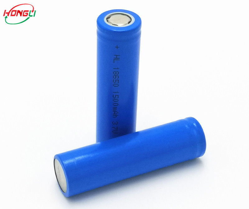Lighting Home Appliance 1500mAh 3.7 V Lithium Ion Cell No Memory Effect Safe Performance
