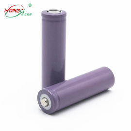China Purple 18650 1200mAh 3,7 V-Impedantie van de Lithium de Ionencel onder 60mΩ fabriek